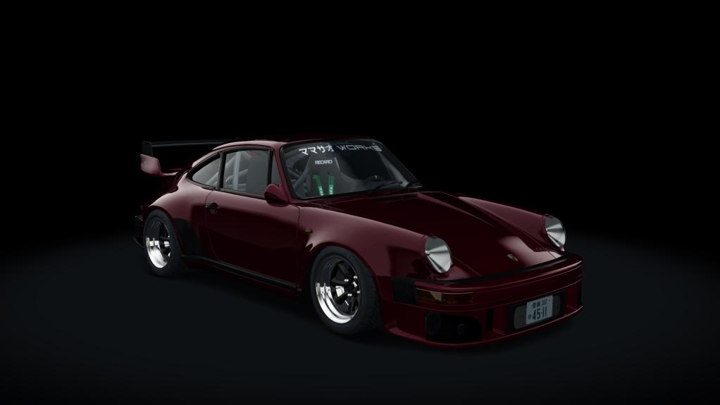 PORSCHE 911 (930) TURBO WANGAN 1989