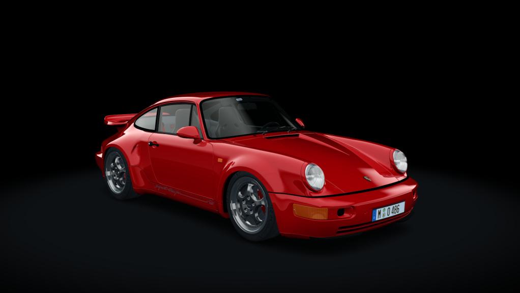 PORSCHE 911 (964) TURBO S 3.3 LEICHTBLAU IMSA 1993