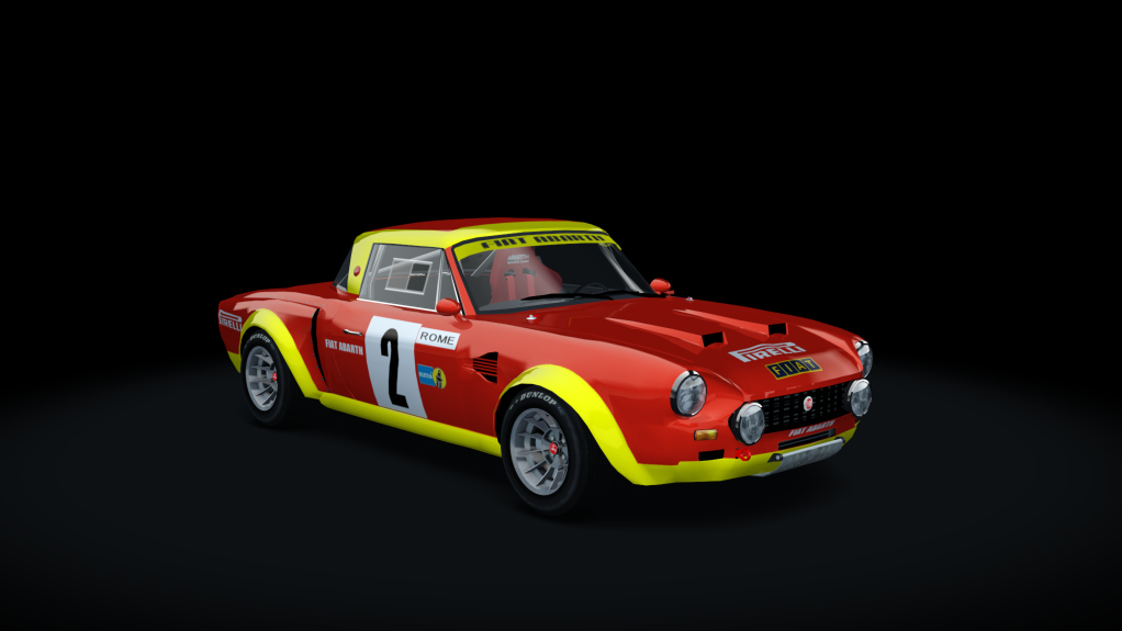 ABARTH 124 GROUP 4 (2in1)