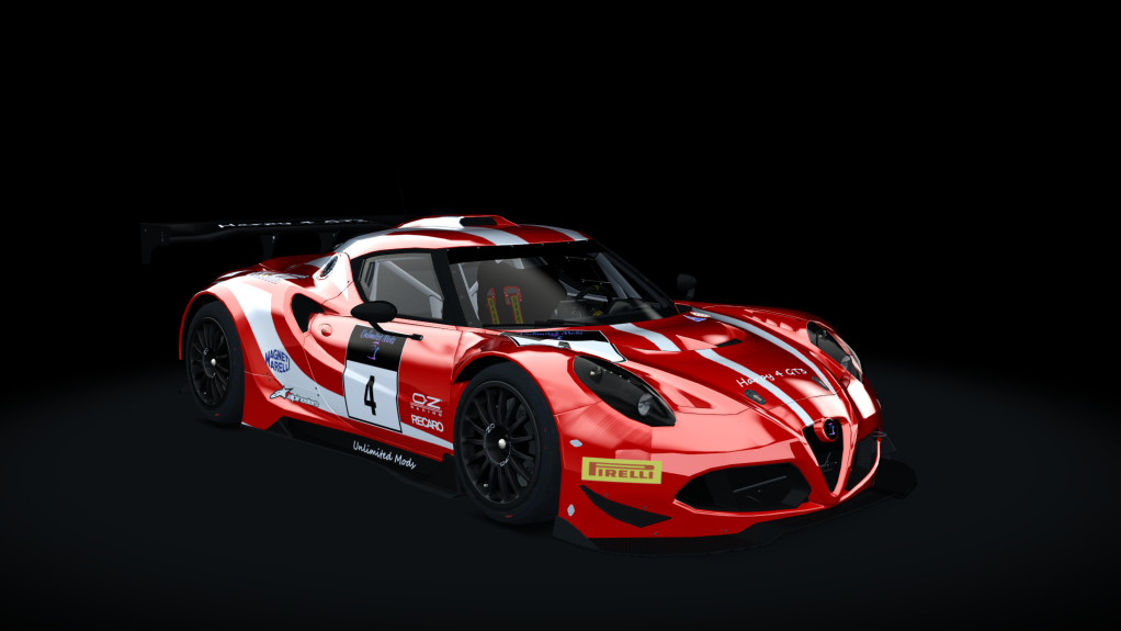 ALFA ROMEO 4C GT3 HARPY